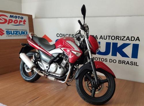 Imagem 1 de 7 de Suzuki Inazuma 250 2016 Vermelha