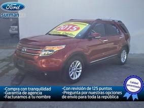 Ford Explorer 3.5 Xlt V6 4x2 At 2015 Seminuevos