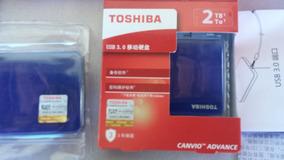 Hd Toshiba 2tb Original Canvio Advance Connect Ii Usb 3.0