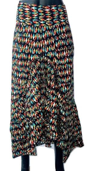 Falda Tipo Flameco Varios Colores, 100% Algodón.