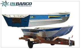 Barco De Alumínio Inbarco 600 De 6 Metros