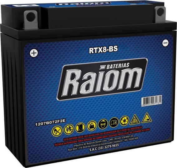Bateria Para Yamaha Neo At115 Moto Rtx8-bs Yb7b-b