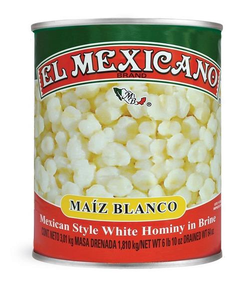 Maíz Pozolero El Mexicano 3010 Grs