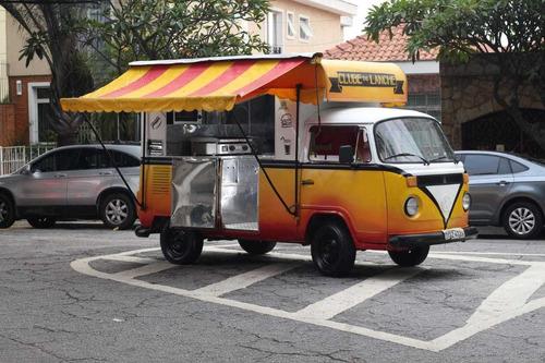 Volkswagen Kombi Food Truck Em Kombi