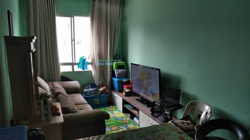Apartamento Para Alugar No Bairro Canhema Em Diadema - Sp.  - 681-2