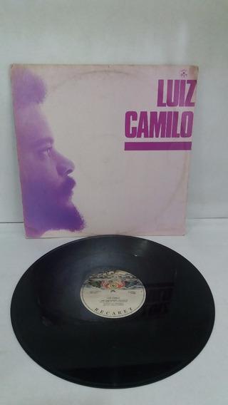 Lp Luiz Camilo / Sem Compromisso / Disco Mix / Ano 1986