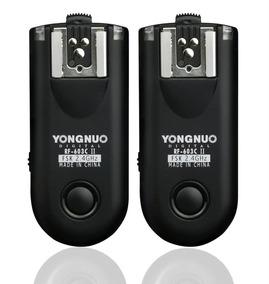 Rádio Flash Yongnuo Rf-603c Ii C3 (para Canon)