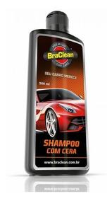Shampoo Com Cera De Carnaúba Automotivo 500ml - Braclean