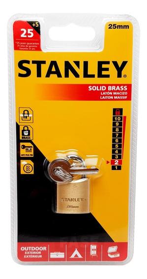 Candado Stanley 25mm Seguridad Anti Pick In Armario Lockers
