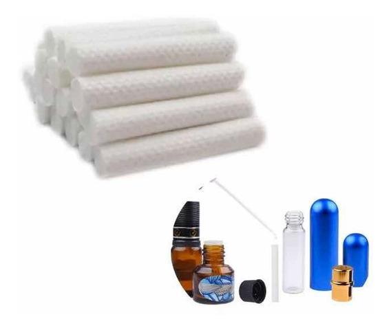 Mechas Para Inhalador Nasal *paquete C/20 Piezas* 5cm Largo