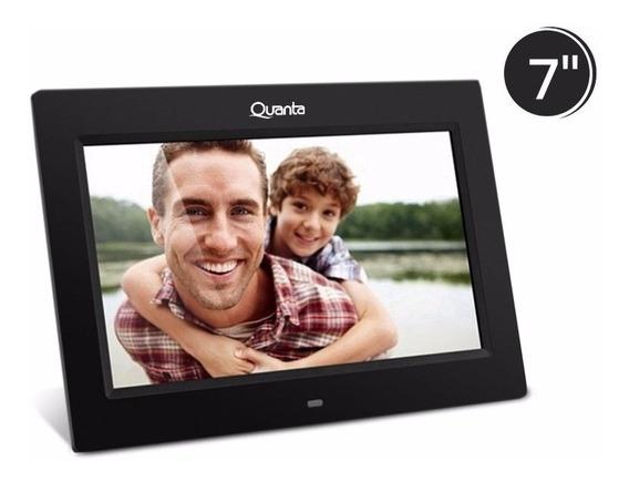 Porta Retrato Digital Quanta Qtprd501 7 Interfase Usb
