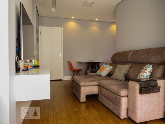 Apartamento No 2º Andar Com 1 Dormitório E 1 Garagem - Id: 892961554 - 261554