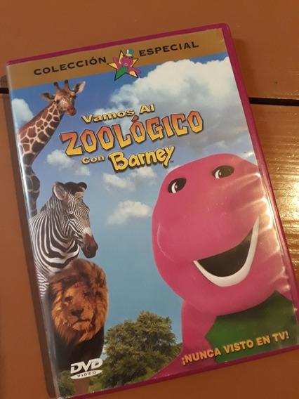 Dvd Barney Dinosaurio El Zoológico Regional 1-4