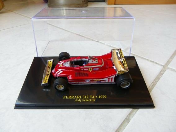 Ferrari 312 T4 Scheckter Campeon F1 1979 1/43