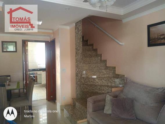 Sobrado Com 2 Dormitórios À Venda, 65 M² Por R$ 300.000 - Loteamento City Jaragua - São Paulo/sp - So1996