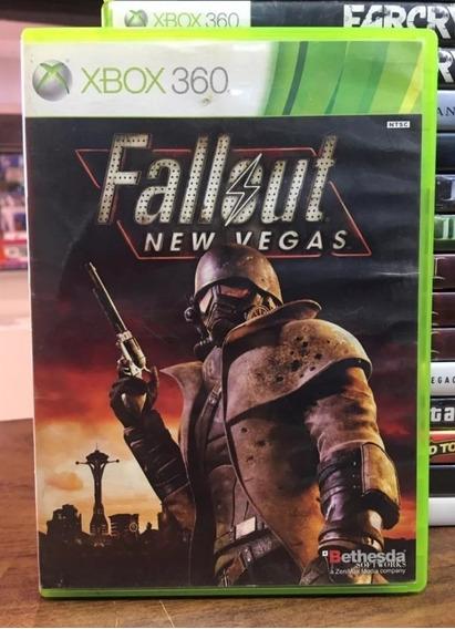 Jogo Xbox 360 Fallout New Vegas Midia Fisica Original