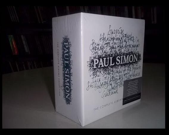 Paul Simon Box 15 Cds - Importado Novo Lacrado