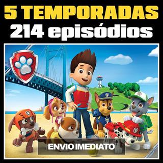 Patrulha Canina Download - 5 Temporadas/214 Episódios+6 Dvds