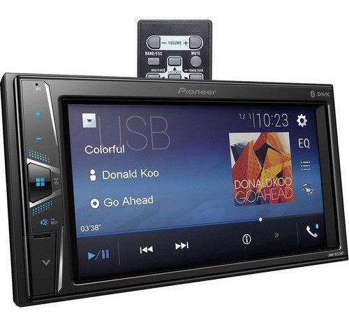 Pantalla Pioneer Multimedia  Bluetooth Usb Subwoofer Control