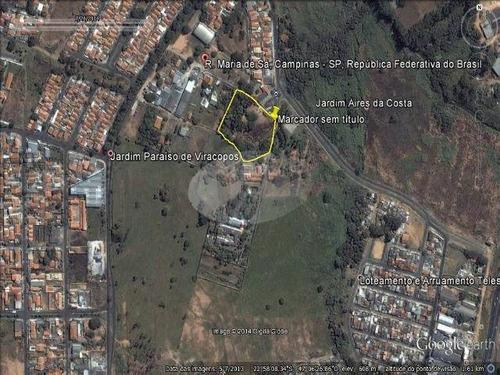Imagem 1 de 2 de Área À Venda Em Jardim Capivari - Ar204435