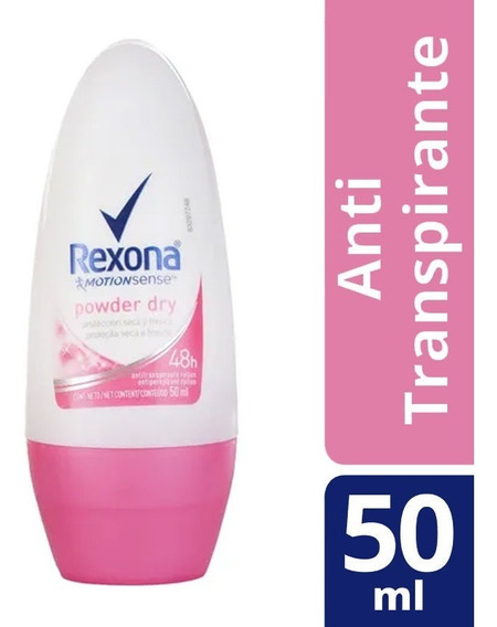 Desodorante Antitransp Rollon Rexona Women Powder 48h 50ml