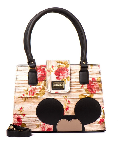 Bolsas Magic Disney Feminino Transversal Quadrada