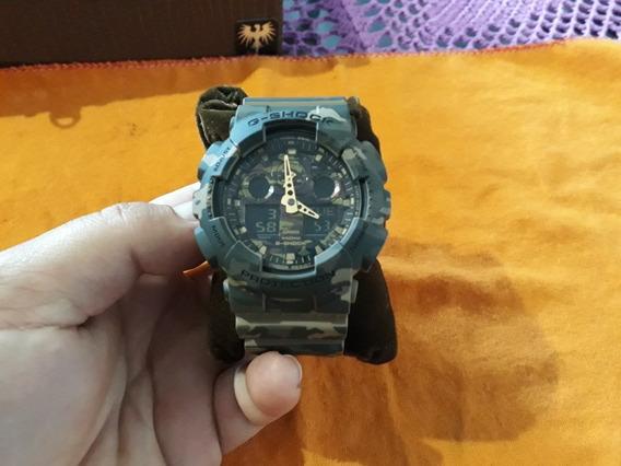 Relógio G Shock Ga-100cm-8a