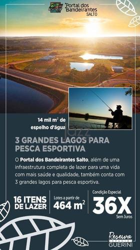 Excelente Terreno À Venda, 1033 M² Por R$ 535.027 - Jardim Buru - Salto/sp - Te1389