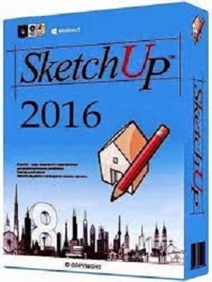 Sketchup Pro 2016 32/64bit + V-ray 2.0 Pt Br