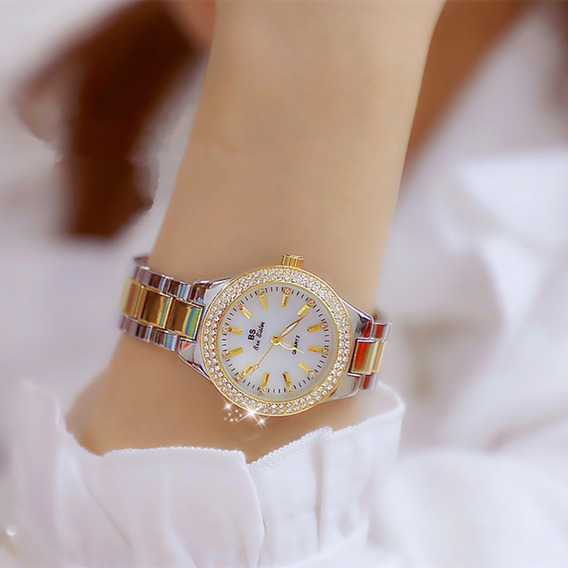 Relógio Feminino Bee Sister Marca Top Beleza E Sofisticação/