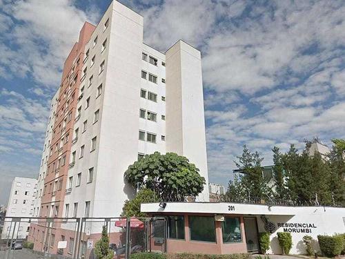 Imagem 1 de 27 de Apartamento Com 02 Dormitórios E 49 M² A Venda Paraisópolis, São Paulo   Sp - Ap26318v