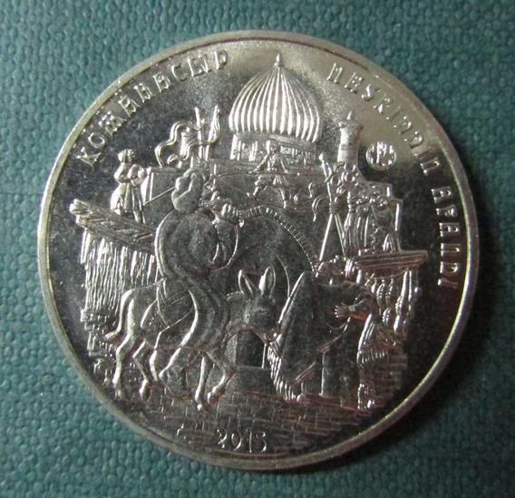 Kazajistan Moneda 50 Tenge Unc 2015 Nasreddin Hodja Km 317