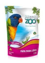 Papa Megazoo Para Lóris - 900g