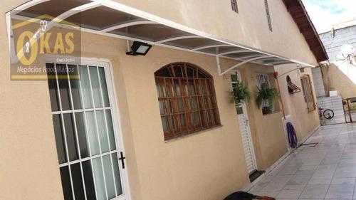 Imagem 1 de 30 de Casa Com 2 Dormitórios À Venda, 89 M² Por R$ 350.000,00 - Vila Urupês - Suzano/sp - Ca0233
