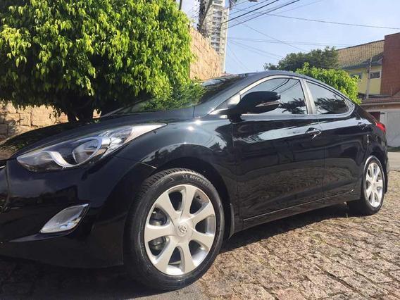 Hyundai Elantra Gls 1.8 Aut 2013 Top De Linha