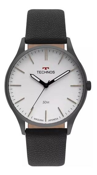 Relógio Technos Masculino Classic Couro Original T38