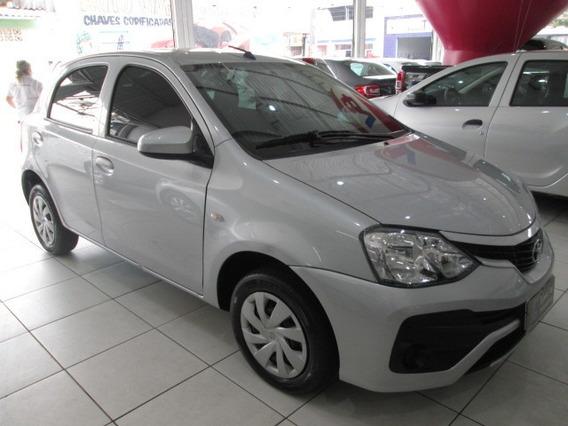 Toyota Etios 1.3 X Ano 2018 Unico Dono Zero De Entrada