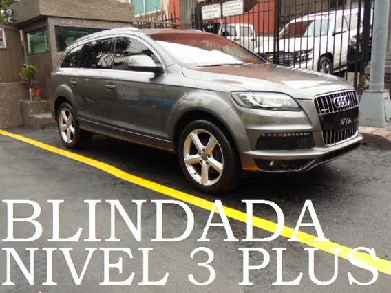 Audi Q7 2010 V6 Blindada Nivel 3 Plus Blindaje Blindados