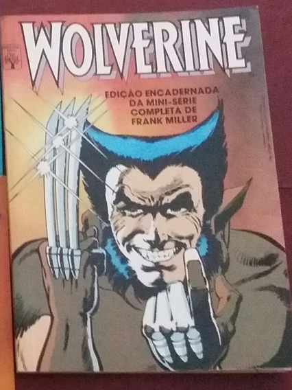 Hq 7 Edições Xmen E Wolverine Mini Serie Abril Marvel