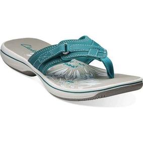 Sandalias Clarks Bs Blue Grey (confirmar Disponibilidad)