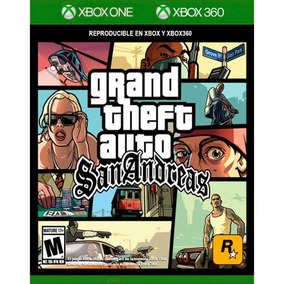 Grand Theft Auto San Andreas Xbox 360 & One Mídia Fìsica