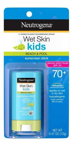 Imagem 1 de 1 de Protetor Solar Bastão Neutrogena Kids Wet Skin Spf 70+