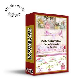 Kit Caixas E Outros - 5000 Arquivos De Corte Para Silhouette