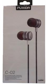 Auricular Puxida Para Celular! Manos Libres. Metal Reforzado