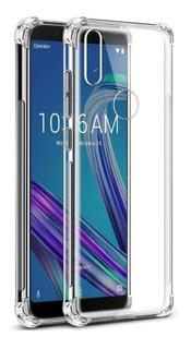 Capa Anti Shock + Pelicula De Vidro Asus Zenfone Max M2 5.5