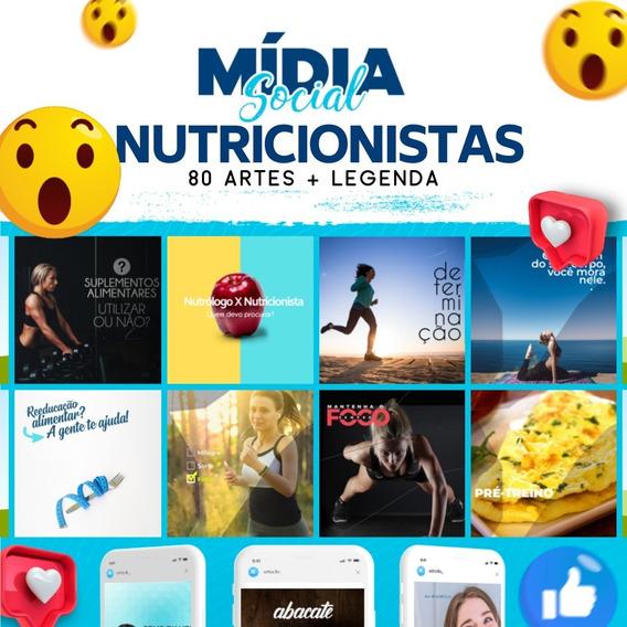 80 Artes Para Nutricionistas - Facebook E Instagram