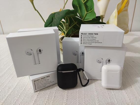 Fone I9000 Tws - AirPods 2 Apple + Sensor + Brindes