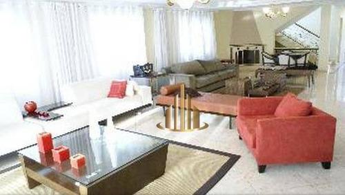 Casa Com 4 Dormitórios À Venda, 620 M² Por R$ 3.600.000,00 - Alphaville - Santana De Parnaíba/sp - Ca0268