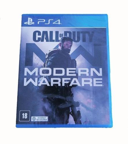 Call Of Duty Modern Warfare Ps4 Mídia Física- Envio Imediato