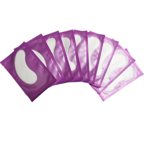 Imagem 1 de 2 de Kit20 Protetor Pálpebra Gel Alongamento Cílios Pad Sortidos